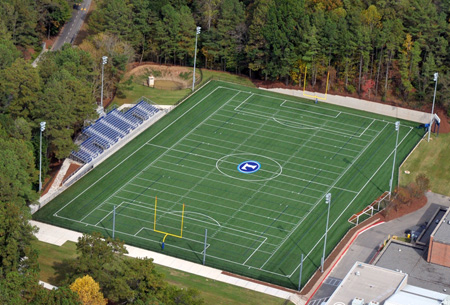 Synthetic Turf Field Construction
